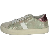 Chaussures Fille Baskets basses Date J281 Platine