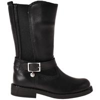 Chaussures Enfant Bottes ville Melania ME2028D8I.C Noir