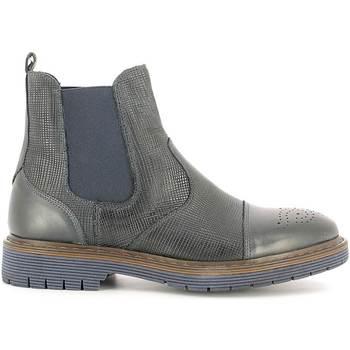 Chaussures Homme Boots Rogers 2008B Bleu