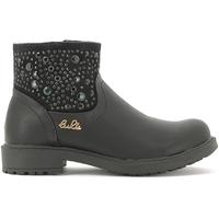 Chaussures Enfant Boots Lulu LL110015S Noir