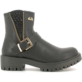 Chaussures Enfant Boots Lulu LL120008S Noir