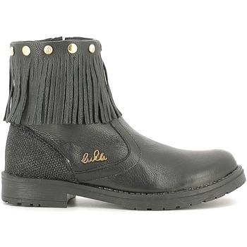 Chaussures Enfant Boots Lulu LL100020L Noir