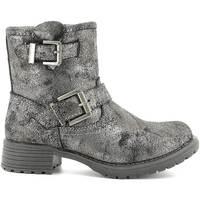 Chaussures Enfant Boots Wrangler WG16205B Gris