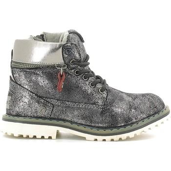 Chaussures Enfant Boots Wrangler WG16201B Argent