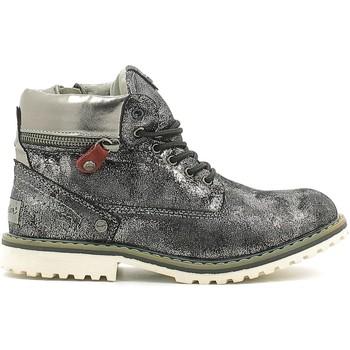 Chaussures Enfant Boots Wrangler WG16201K Argent