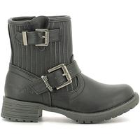 Chaussures Enfant Boots Wrangler WG16205B Noir