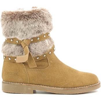 Chaussures Enfant Bottes de neige Naurora NA-640 Beige