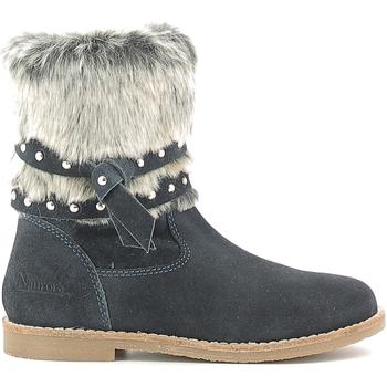 Chaussures Enfant Bottes de neige Naurora NA-640 Bleu