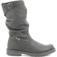 Chaussures Enfant Bottes ville Lulu LL1000017L Noir