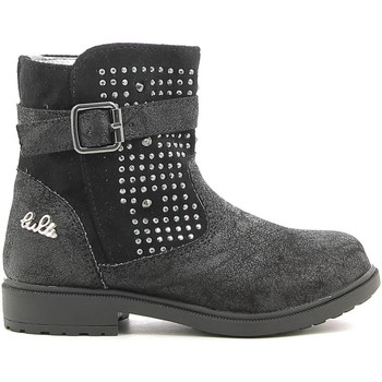 Chaussures Enfant Boots Lulu LL140006S Noir
