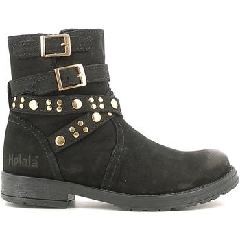 Chaussures Enfant Boots Holalà HL120008L Noir