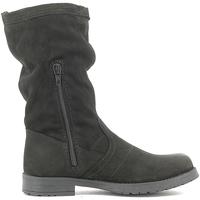 Chaussures Enfant Boots Lulu LL1000017L Noir