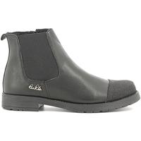 Chaussures Enfant Boots Lulu LL100022L Noir