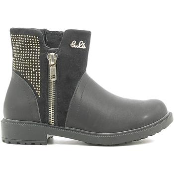 Chaussures Enfant Boots Lulu LL110016S Noir