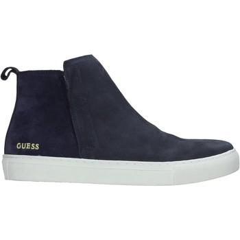 Chaussures Homme Boots Guess FM8IAN SUE12 Bleu