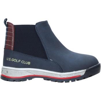 Chaussures Enfant Boots U.s. Golf W19-SUK525 Bleu