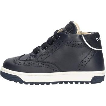 Chaussures Garçon Baskets montantes Balducci - Polacchino blu CSP4101 BLU