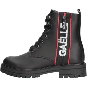 Chaussures Fille Bottines GaËlle Paris - Anfibio nero G-464 NERO