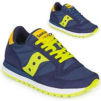 Chaussures Baskets basses Saucony JAZZ ORIGINAL Bleu / Jaune