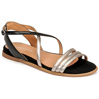 Chaussures Femme Sandales et Nu-pieds Adige IDIL V2 CENTURY ACERO Argenté