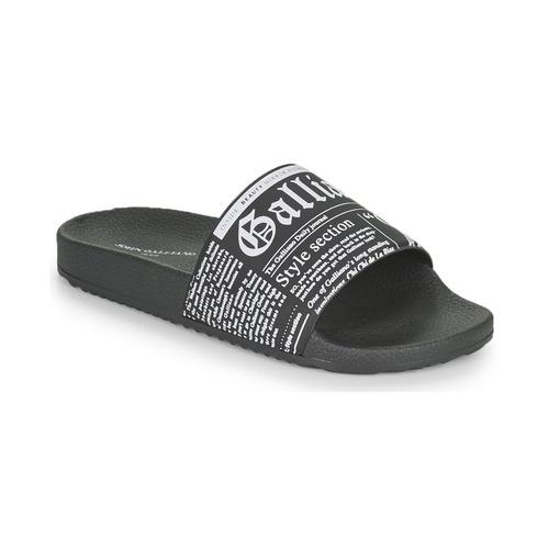 Chaussures Homme Claquettes John Galliano SOULEL Noir