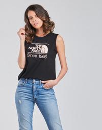 Vêtements Femme Débardeurs / T-shirts sans manche The North Face W SEASONAL GRAPHIC TANK Noir