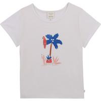 Vêtements Fille T-shirts manches courtes Carrément Beau CASITA Blanc