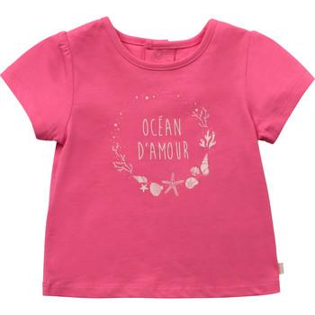 Vêtements Fille T-shirts manches courtes Carrément Beau BIANCA Rose