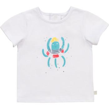 Vêtements Garçon T-shirts manches courtes Carrément Beau BOLLA Blanc