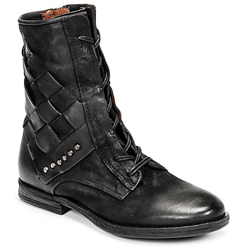 Chaussures Femme Boots Airstep / A.S.98 ZEPORT TRESSE Noir