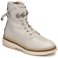 Chaussures Femme Boots Airstep / A.S.98 IDLE Blanc