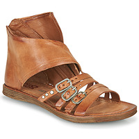 Chaussures Femme Sandales et Nu-pieds Airstep / A.S.98 RAMOS HIGH Camel