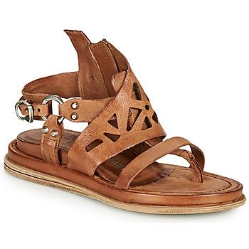 Chaussures Femme Sandales et Nu-pieds Les Iles Wallis et Futuna POLA GRAPH Camel