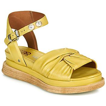 Chaussures Femme Sandales et Nu-pieds Airstep / A.S.98 LAGOS NODE Jaune