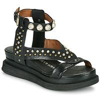 Chaussures Femme Sandales et Nu-pieds Airstep / A.S.98 LAGOS STUD Noir