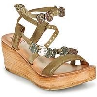 Chaussures Femme Sandales et Nu-pieds Airstep / A.S.98 NOA Kaki