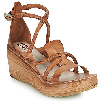 Chaussures Femme Sandales et Nu-pieds Airstep / A.S.98 NOA STRAP Camel