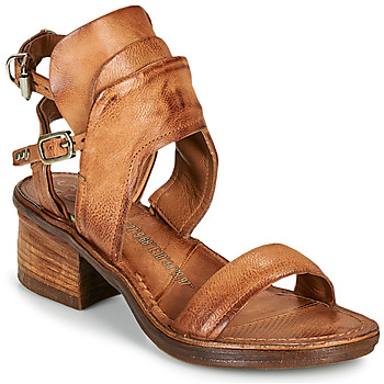 Chaussures Femme Sandales et Nu-pieds Airstep / A.S.98 KENYA BUCKLE Camel