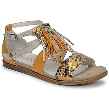 Chaussures Femme Sandales et Nu-pieds Regard BASTIL2 Jaune