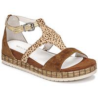 Chaussures Femme Sandales et Nu-pieds Regard CASSIS Marron