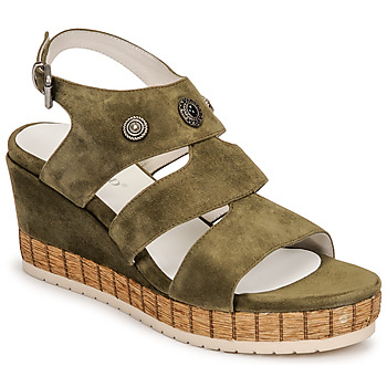 Chaussures Femme Sandales et Nu-pieds Regard DOLLIS Kaki