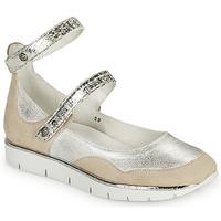 Chaussures Femme Sandales et Nu-pieds Regard JUMEL Blanc / Argenté