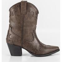 Chaussures Femme Bottines Corina A2812 Marron