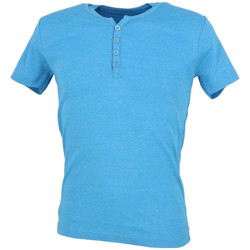 Vêtements Homme T-shirts manches courtes Biaggio MB-THEO Bleu
