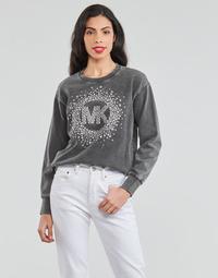 Vêtements Femme Sweats Continuer mes achats ACID WSH MK STAR STUD Noir