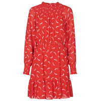 Vêtements Femme Robes courtes MICHAEL Michael Kors SIGNATRE LOGO SMCK DR Rouge