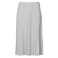 Vêtements Femme Jupes MICHAEL Michael Kors MIDC PLEAT SWTR SKIRT Gris