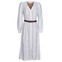 Vêtements Femme Robes longues MICHAEL Michael Kors ROPE STRIPES HEMP DS Blanc