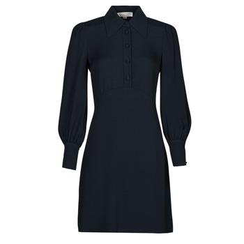 Vêtements Femme Robes courtes MICHAEL Michael Kors VI SATIN MINI DRESS Marine