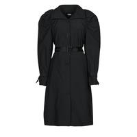 Vêtements Femme Trenchs Karl Lagerfeld DRAPEDTRENCHCOAT Noir